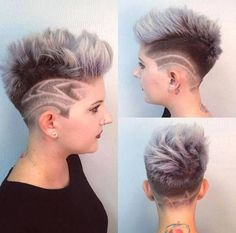 Short Hair Beauty — What do you think of this cut and color?...
