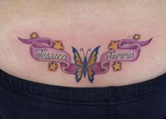 Lower Back Tattoos for Girls Meaning - Tattoo Designs Piercing Body ...