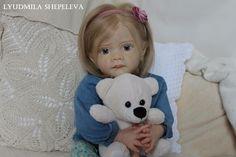 Reborn toddler, beautiful girl Mila!SOLD OUT, LIMIT kit Frida by Karola Wegerich #KarolaWegerich