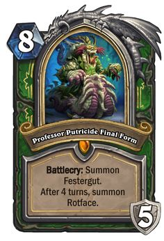Custom Hearthstone Cards Gallery