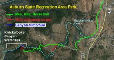 Knickerbocker trail map