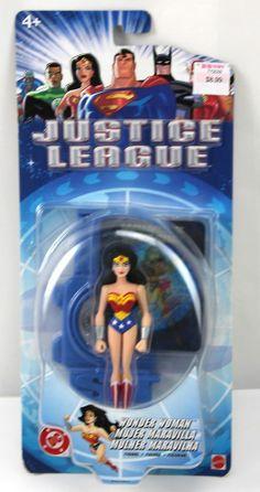 DC Comic Justice League Wonder Woman Action Figure NIB
