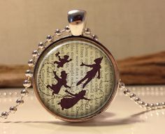 Peter Pan Jewelry Peter Pan Necklace Peter by Hadaskolcollection