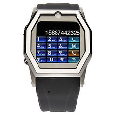 TW520 1.6 2G Watch Cell Phone(Bluetooth,JAVA) : Online Shopping for Watches, Toys & more