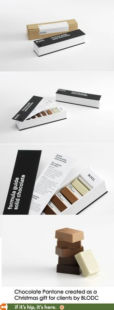 Pantone Chocolates.                                                                                                                                                                                 More