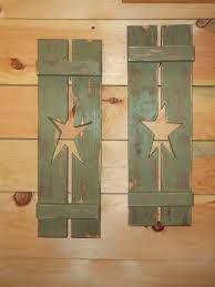 exterior window shutters with cutouts