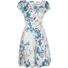 Work elegant florals into your occasion collection with this beautifully feminine fit-and-flare dress. Designed and made in London, this timeless number boasts…