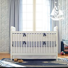 Navy Nursery Basics #serenaandlily