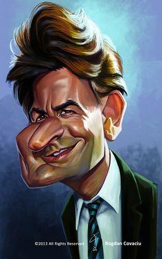 Charlie Sheen by bogdancovaciu on deviantART