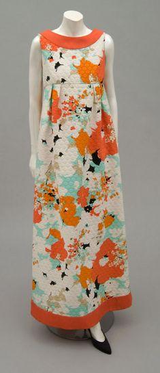 Pierre Cardin Evening Dress, 1970. The Philadelphia Museum of Art