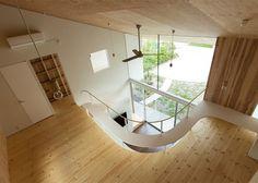 *숄을 드리운듯한 지붕을 한 일본의 주택-[ Y+M Design Office ] Shawl House