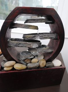 Cathy's mini indoor fountain