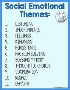 Teaching the Alphabet - Kindergarten Cafe Social Emotional Activities, Social Emotional Development, Social Skills Lessons, Coping Skills, Social Behavior, Classroom Behaviour, Preschool Behavior, Behavior Management, Classroom Management