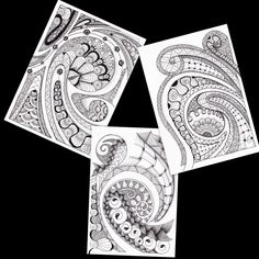 koru art | Koru cards- original art print- blank card | Felt Samoan Tribal, Maori Designs, Maori Art, Chicken Scratch, Zen Doodle, Blank Cards, Zentangle, Tatting, Art Ideas