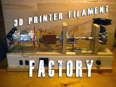 Build Your Own 3d Printer Filament Factory (Filament Extruder)