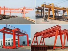 Industrial Gantry Crane consists of various types, with favorable price, high quality and intimate service. Cranes For Sale, Gantry Crane, Heavy Equipment, High Quality Images, Pergola, Industrial, Outdoor Structures, Container, Awesome