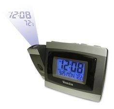 Westclox Projection alarm clock 70006