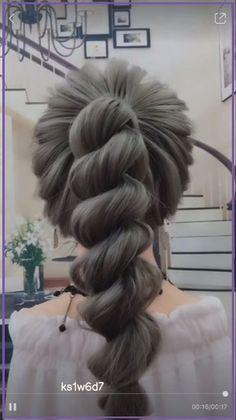 Hairstyles For Medium Length Hair Easy, Braids For Long Hair, Cute Hairstyles, Braided Hairstyles, Wedding Hairstyles, Step Hairstyle, Hairstyle Tutorials, Woman Hairstyles, Hairstyles Videos