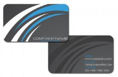 Silk Laminated with Rounded Corners and Spot UV #Business Cards