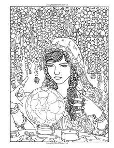 The Curious Carnival: Coloring Book for Grown-ups (9781539991571): M.R. Umlas, Rolando Jimenez: Books