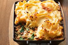 This hearty chicken bake is designed to satisfy even the hungriest of appetites.