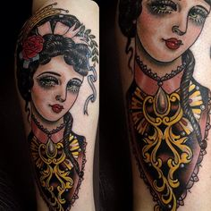 inspiration for 'lady' tattoo
