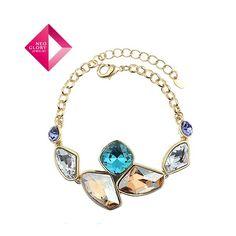 Aliexpress.com : Buy Neoglory Jewelry with Swarovski element crystal bracelets & bangles women bracelet blue Christmas gift new arrive from Reliable bracelet suppliers on NEOGLORY JEWELRY
