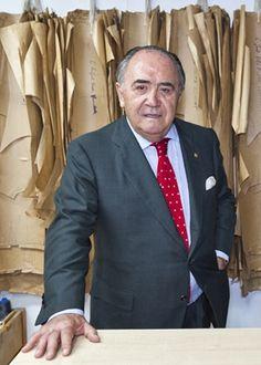 Reportaje Antonio Puebla: El sastre tiene que ser artista   Vestirse por los pies