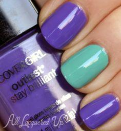 Multi-Colored Manicure