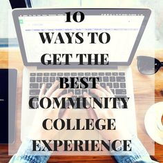 Tips to have the best community college experience. Tips to have the best community college experience. College Majors, College Hacks, Education College, College Life, Career College, College Success, Uk College, Study College, Elementary Education