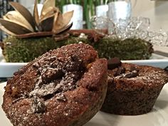 Zablisztes zserbó muffin Bagel, Vegan Vegetarian, Muffins, Bread, Cookies, Chocolate, Breakfast, Healthy, Food