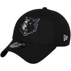 Minnesota Timberwolves New Era Team Classic 39THIRTY Flex Hat - Black