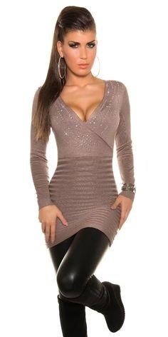 Elegantní svetr Formal Dresses, Sweaters, Fashion, Tunic, Dresses For Formal, Moda, Formal Gowns, Fashion Styles, Formal Dress