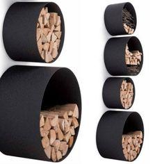 ideen für brennholzlagerung kaminholz lagern Mehr