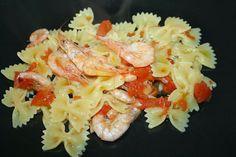 pasta con i gamberi / pasta with shrimps