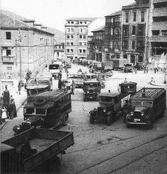 Plaza del carbayon.1936