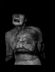 Kazuo Ohno (1906 - 2010) photographed by Eikoh Hosoe. Butoh