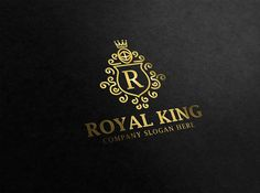 Royal King Logo by @Graphicsauthor