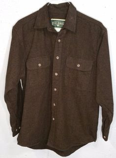 Nordstrom SMARTCARE Mens Brown Striped Long Sleeve Button Down ...