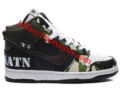 new concept 45167 eb2ae Nike Dunk High Command N Conquer ABMNATN Camo Design Army Style