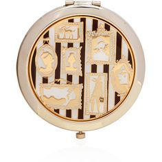 Henri Bendel Bendel Cameo Compact Mirror ($38) ❤ liked on Polyvore featuring beauty products, beauty accessories and henri bendel