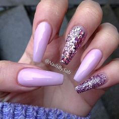 Hot Color Shades to Stay Fashionable with Ballerina Nails #naildesignsjournal #nails #ballerinanails