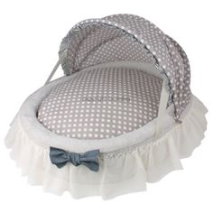 Louisdog baby cradle dot