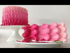 Ombre Cake HOW TO COOK THAT easy pink ombre - Video