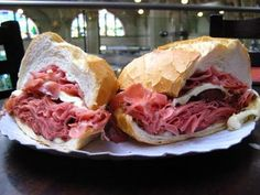 If you visit Mercado Municipal (Sao Paulo, Brazil), this is a must. It is more than bologna - it is The Mortadella Sandwich. Mortadella Sandwich, Cooking Tips, Cooking Recipes, Visit Brazil, Spanish Food, Bologna, Farmers Market, Street Food, Entrees