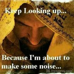 I loves this!! Let's all get ready to make some NOISE with our Lord Jesus  There is power in the name of Jesus to break every chain.