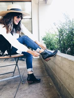 Stylist Alexis Atarian Reddy takes our MADDELENA boot for a spin