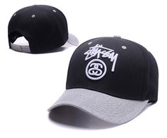 Men's / Women's Stussy The Stock Logo Embroidery Curved Dad Hat - White