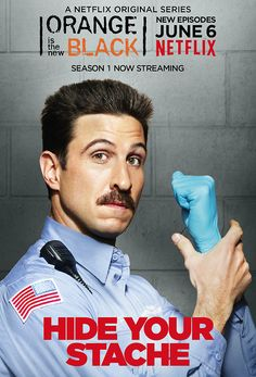 Orange In The New Black // Pornstache // George Mendez // Pablo Schreiber