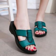 Details about  /Retro Womens Chinese Summer faux Leather Hollow out Huarache Sandal Ethnic Shoes